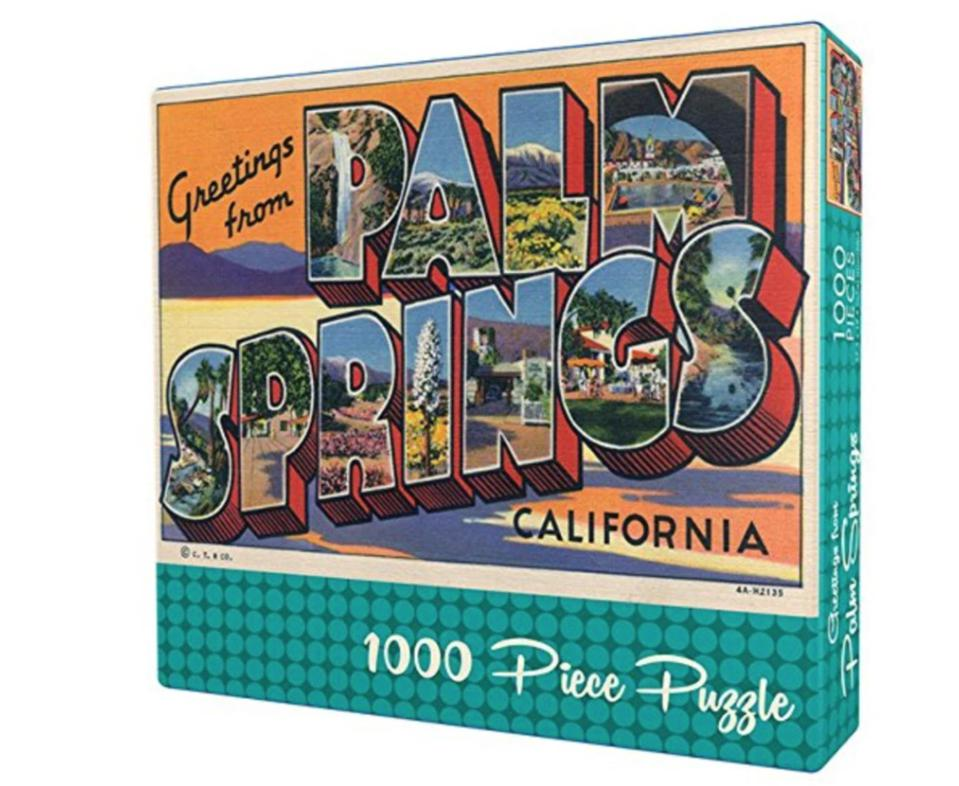 Gibbs Smith Greetings from Palm Springs Puzzle from Occasionette
