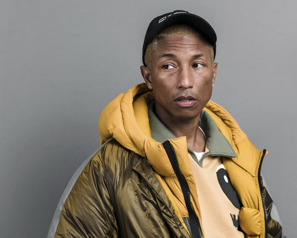Pharrell Williams Portrait Session