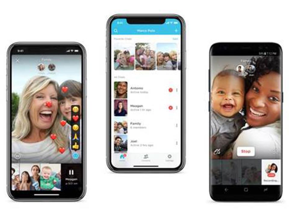 Marco Polo video sharing app allows users to have intimate communication with those who matter most.