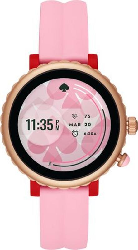 Kate Spade sport smartwatch in pink