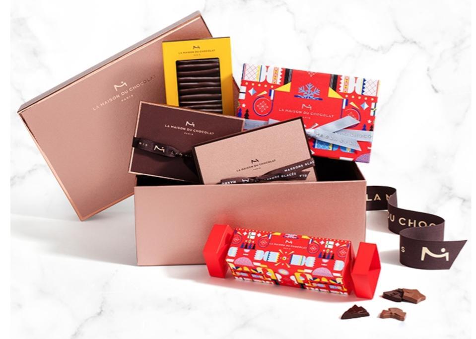 La Maison du Chocolat Sparkling Holiday Hatbox