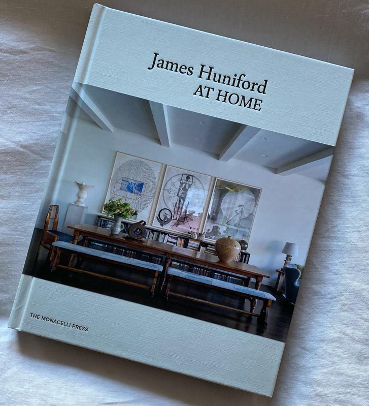 ″James Huniford: At Home″ book