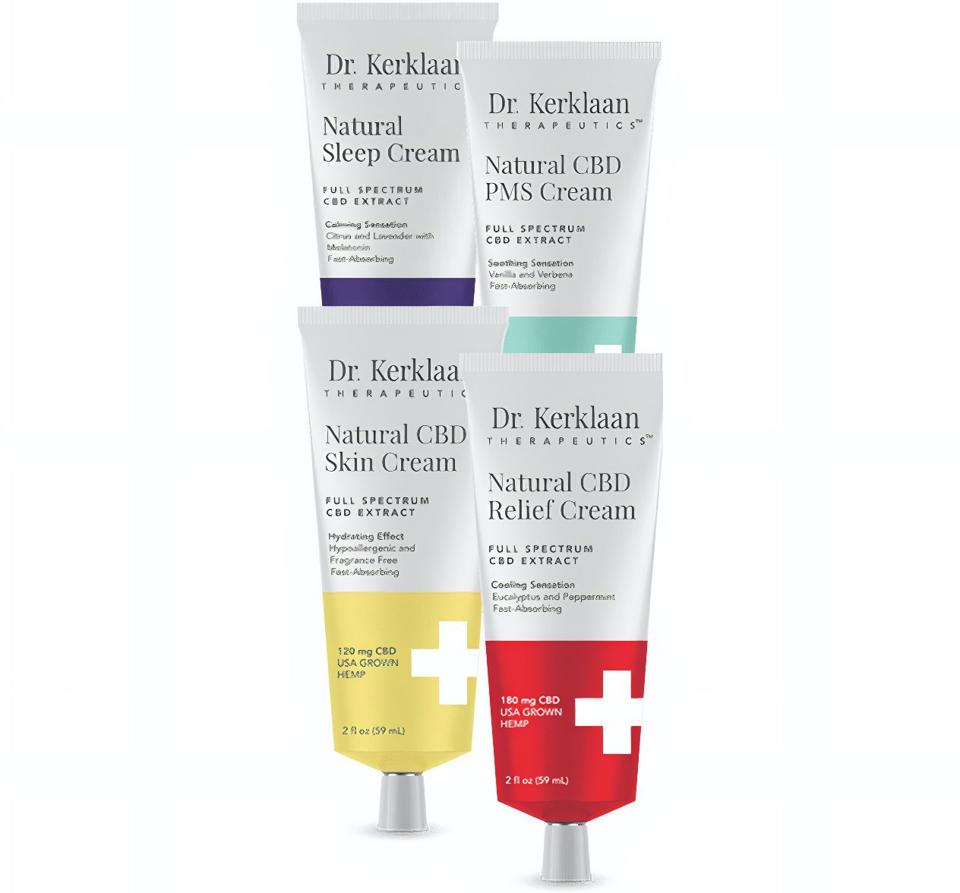 Dr. Kerklaan Therapeutics NATURAL CBD CREAM KIT