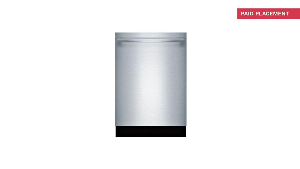 Bosch 24″ 800 Series Stainless Steel Pocket Handle Dishwasher - SHPM78Z55N