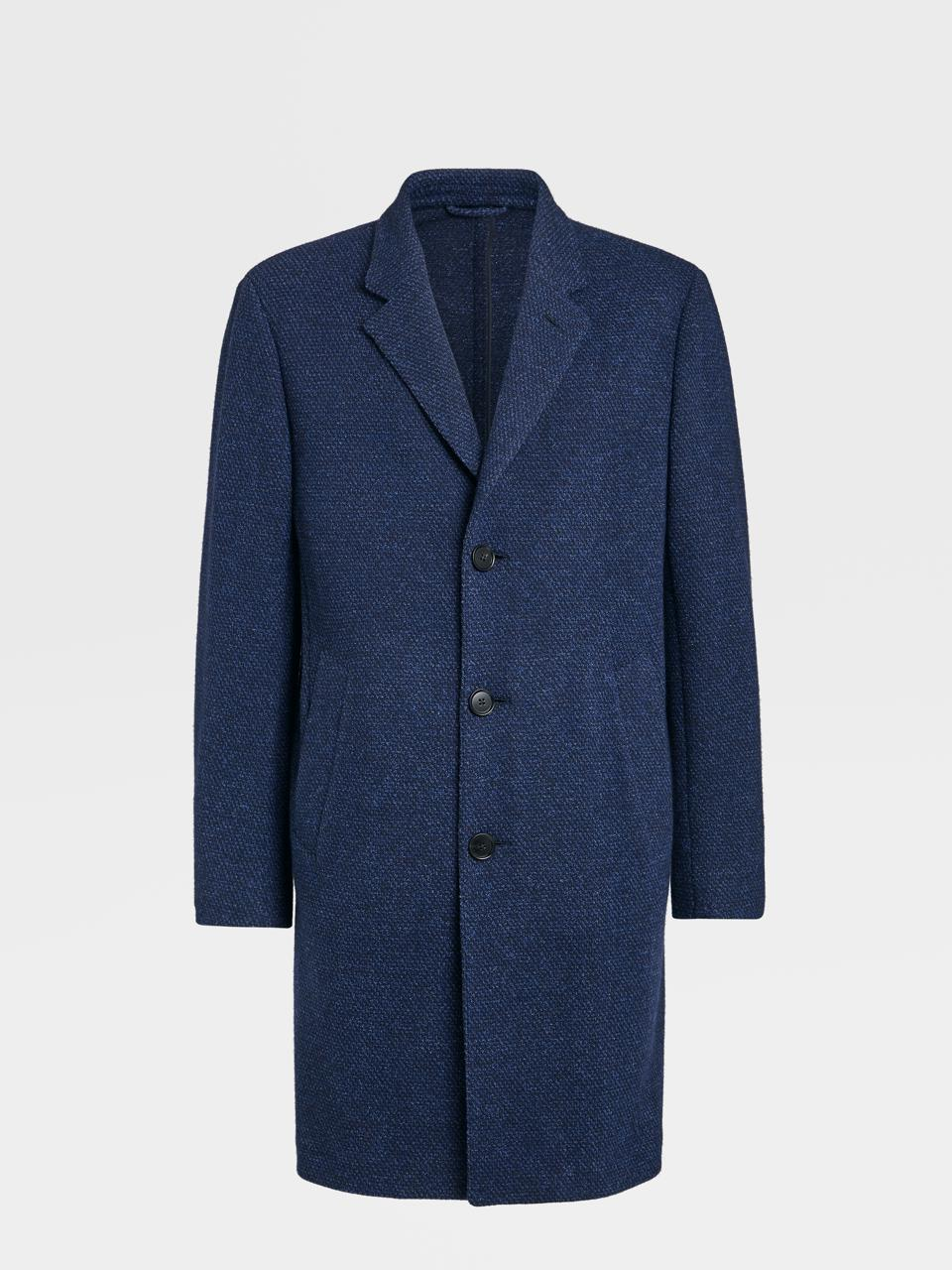 Cashmere and Wool Blend Overcoat by Ermenegildo Zegna