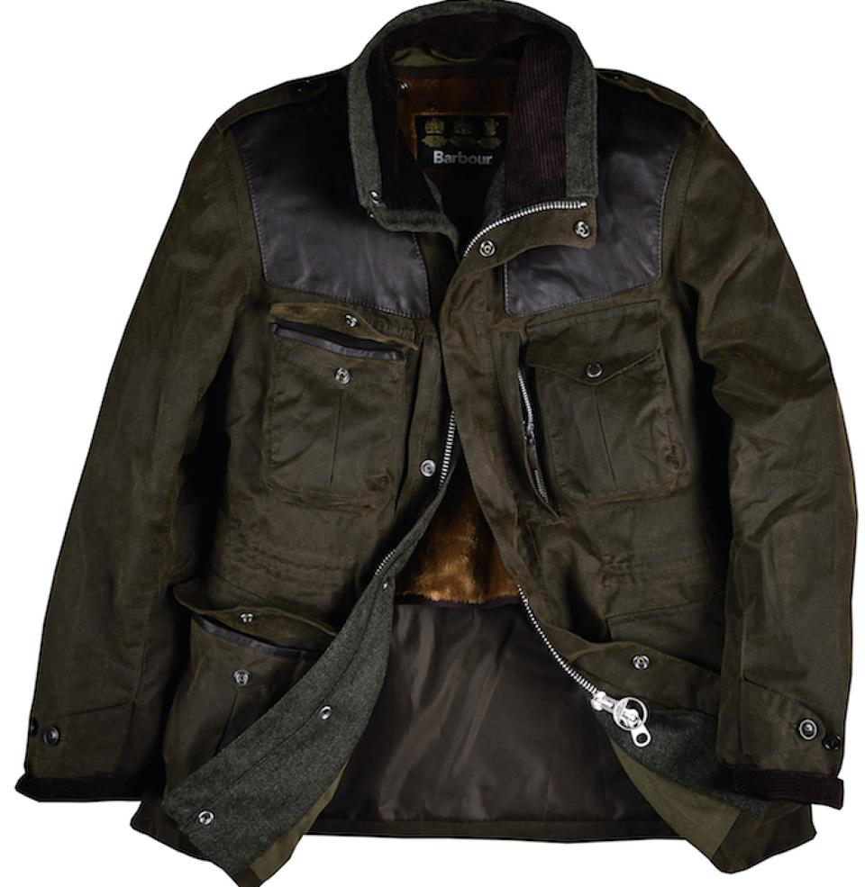 Barbour Gold Standard Supa-Corbridge Wax Jacket  Image