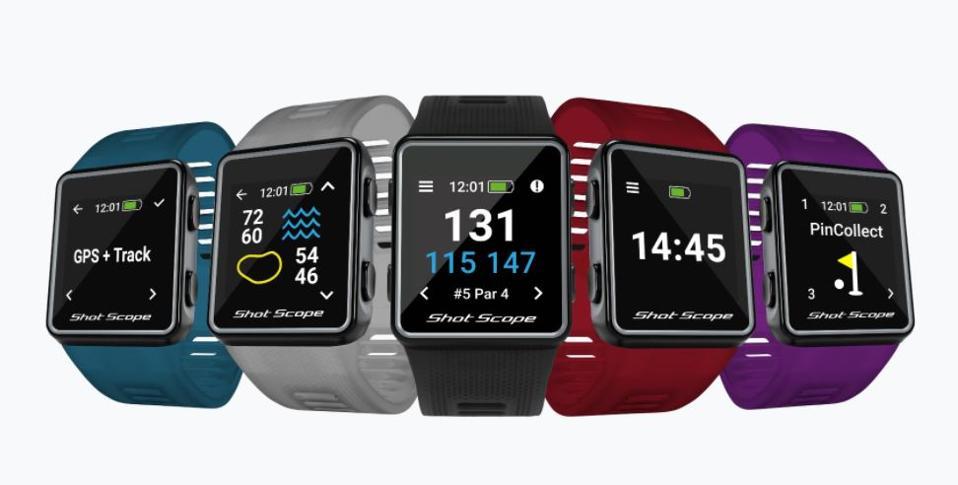 Shot Scope's V3 Smart Golf Watch