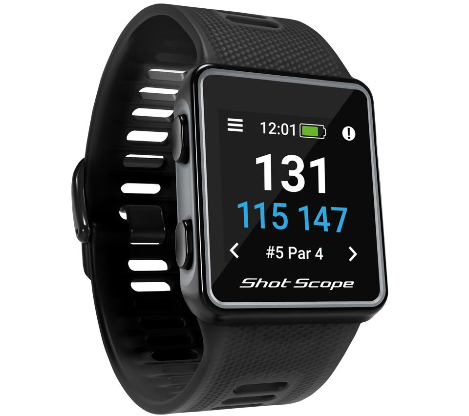 Shot Scope black V3 Smart Watch