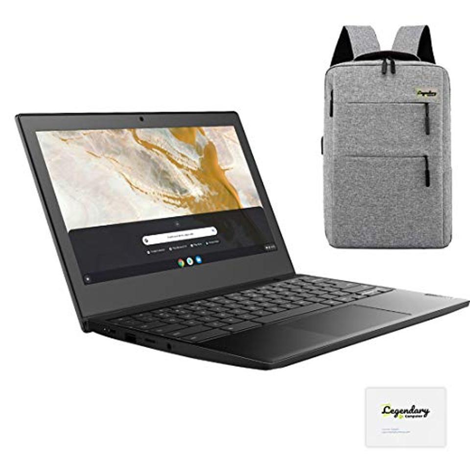 Lenovo 3 11″ Chromebook, HD Display, AMD A6-9220C, 4GB, 32GB eMMC