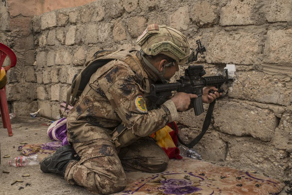 Iraqi Troops Advance Into West Mosul