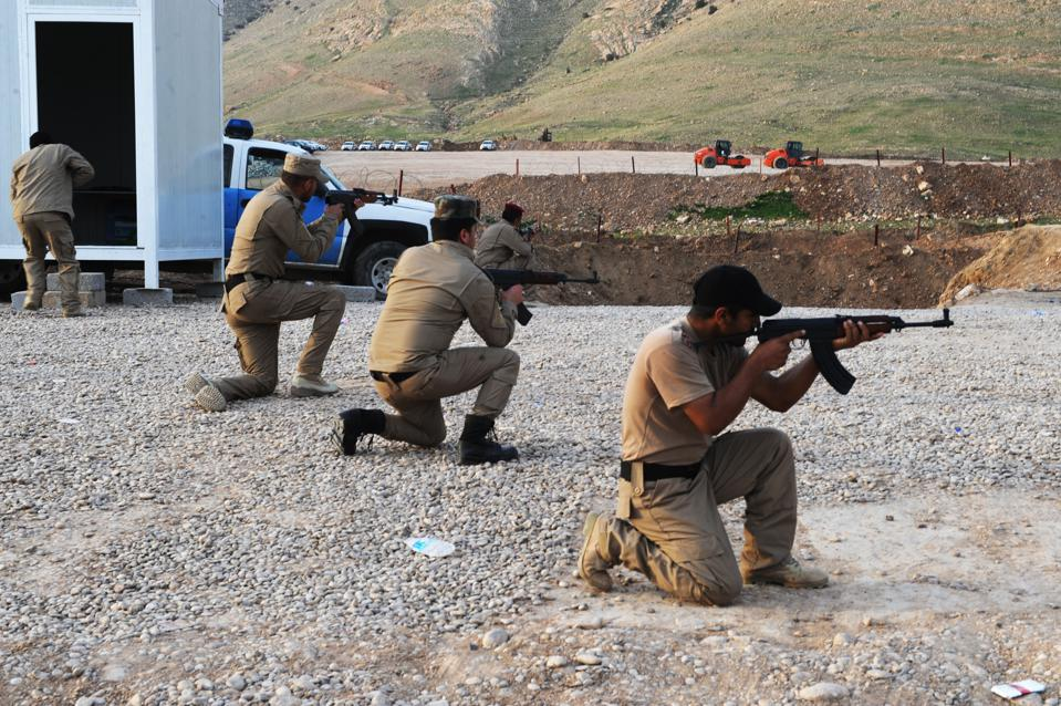 Special forces' training to recapture ISIL held Mosul city of Iraq