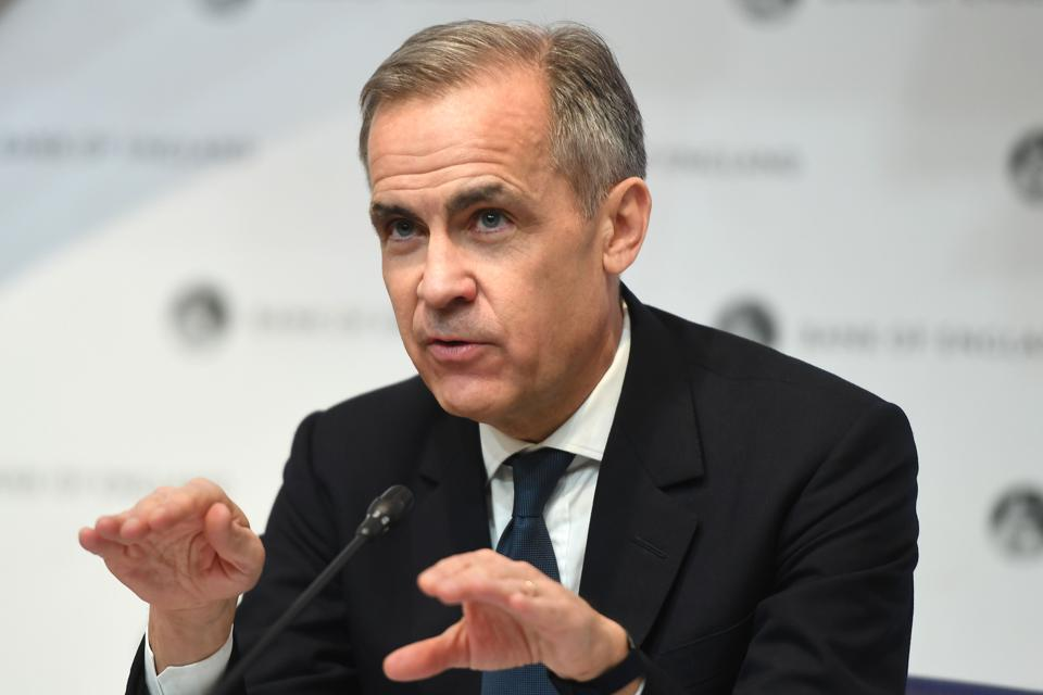 Bank of England Governor Mark Carney And Governor-Designate Andrew Bailey Announce Interest Rate Cut in Response to Coronavirus
