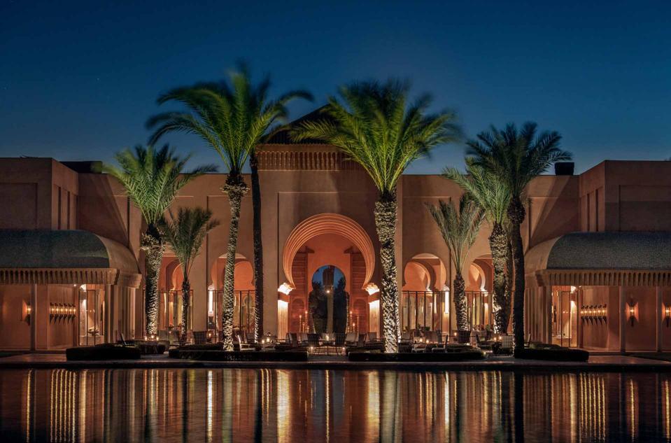 Amanjena, Morocco - General Resort & Bassin View