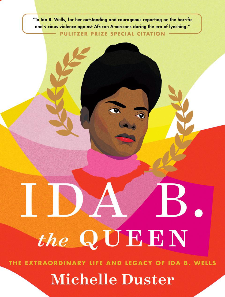 ida b the queen michelle duster biography book cover wells pulitzer prize special citation