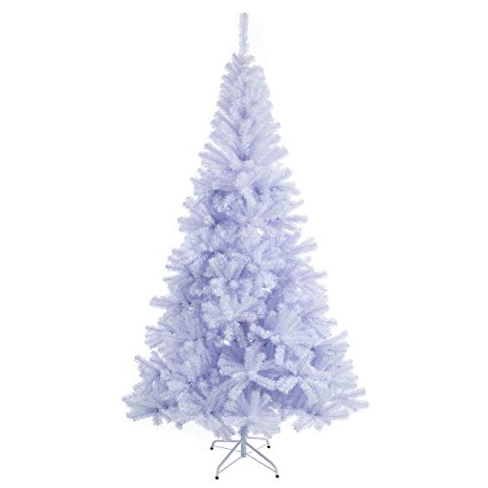Sunnyglade 7.5 Foot Premium White Artificial Christmas Tree