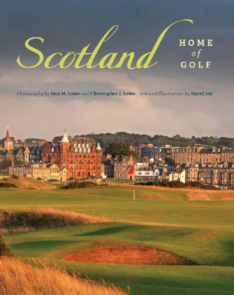 Scotland Home of Golf book
