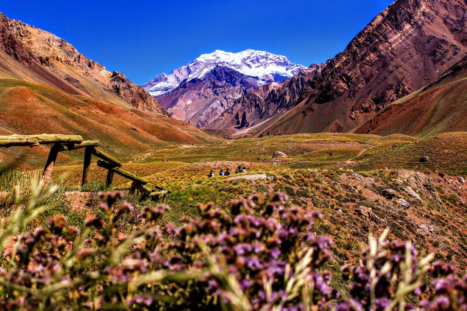 argentina hiking mountains