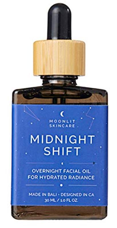 meilleurs cadeaux pour les femmes Moonlit Skincare 'Midnight Shift' Overnight Facial Oil