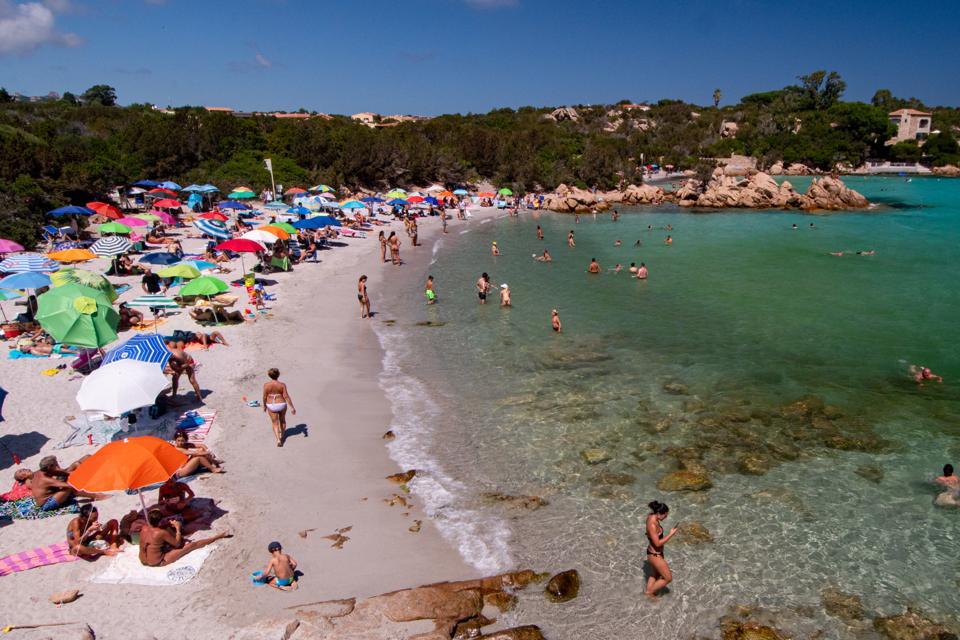 Emerald Coast Beaches In Sardinia