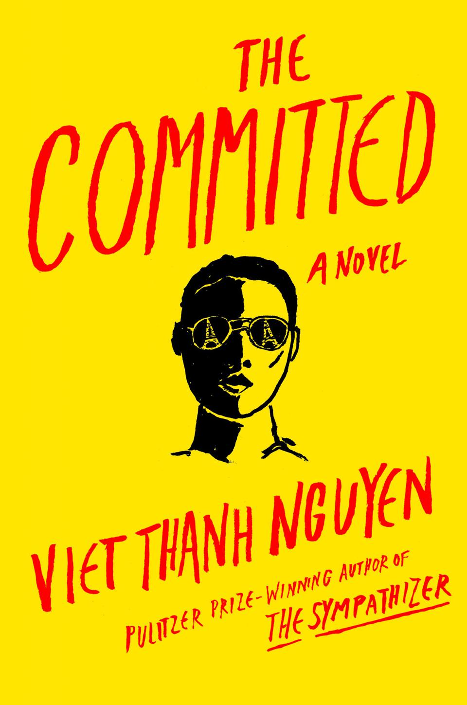the committed novel viet thanh nguyen book cover grove press