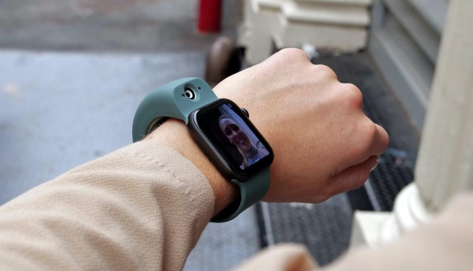 Wristcam is a camera for your Apple Watch that is built into the strap