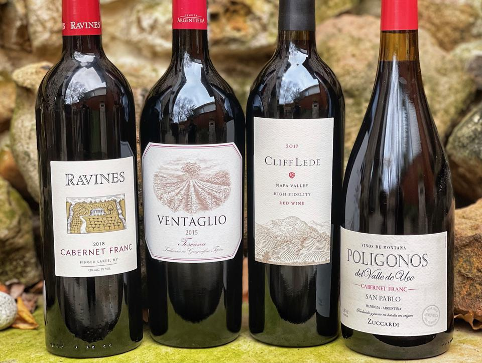 a selection of high-quality Cabernet Franc wines