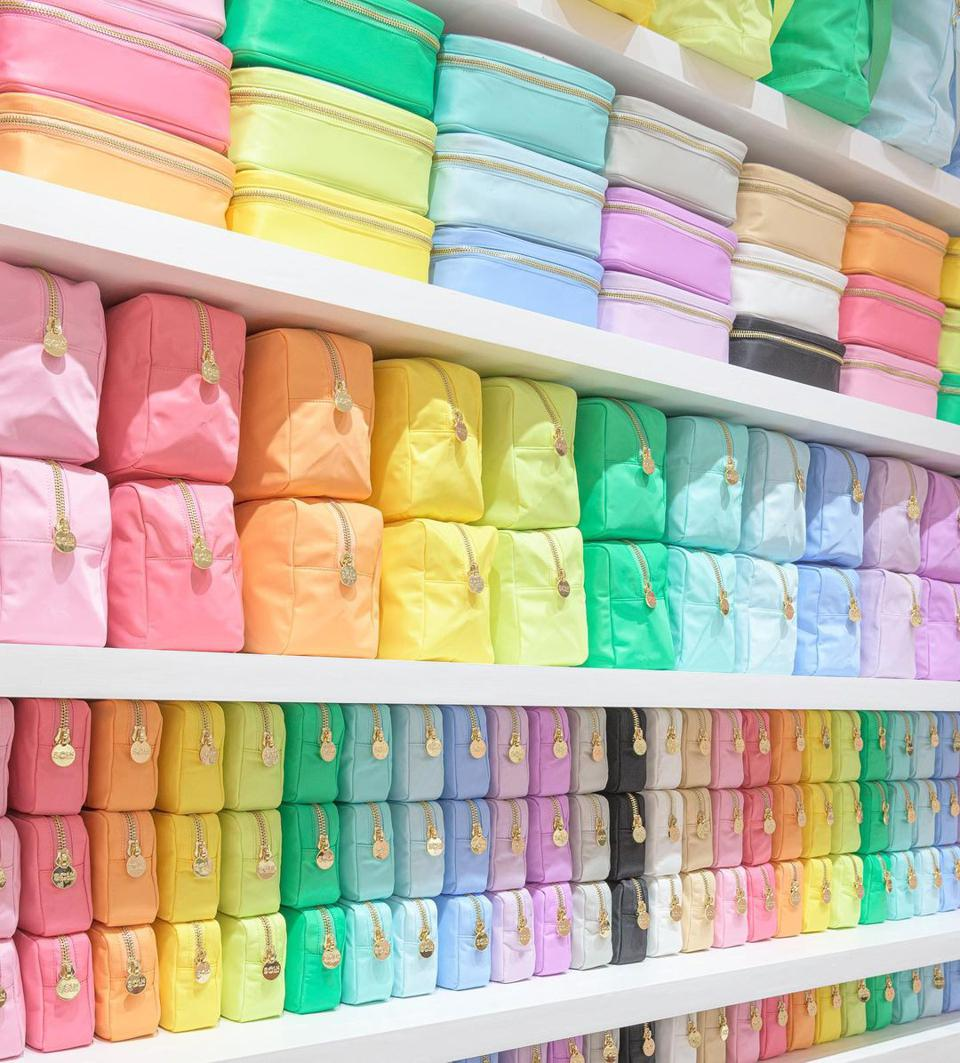 An assortment of colorways at Stoney Clover Lane.