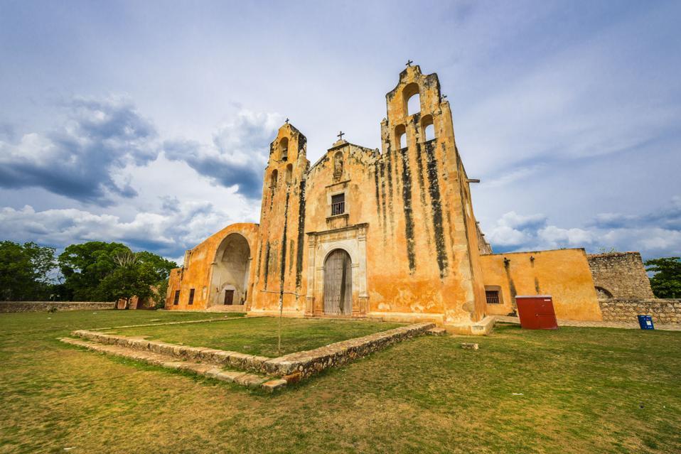 Route of the convents Mani, Yucatan, Mexico magical town pueblo magico