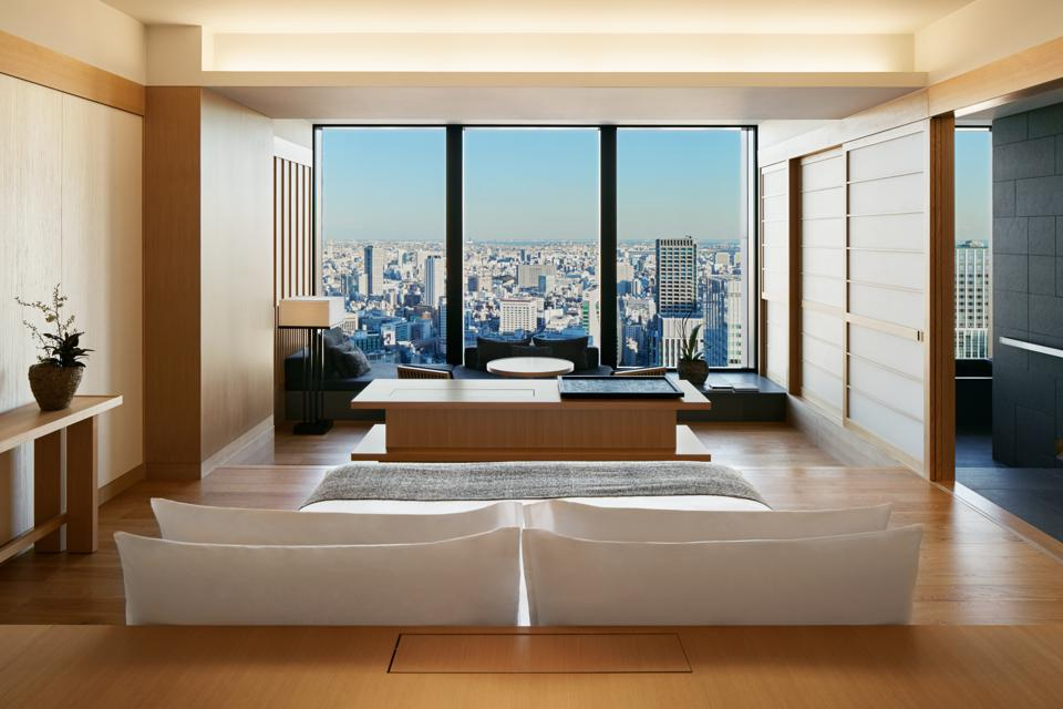 View from the Suite at Aman Tokyo