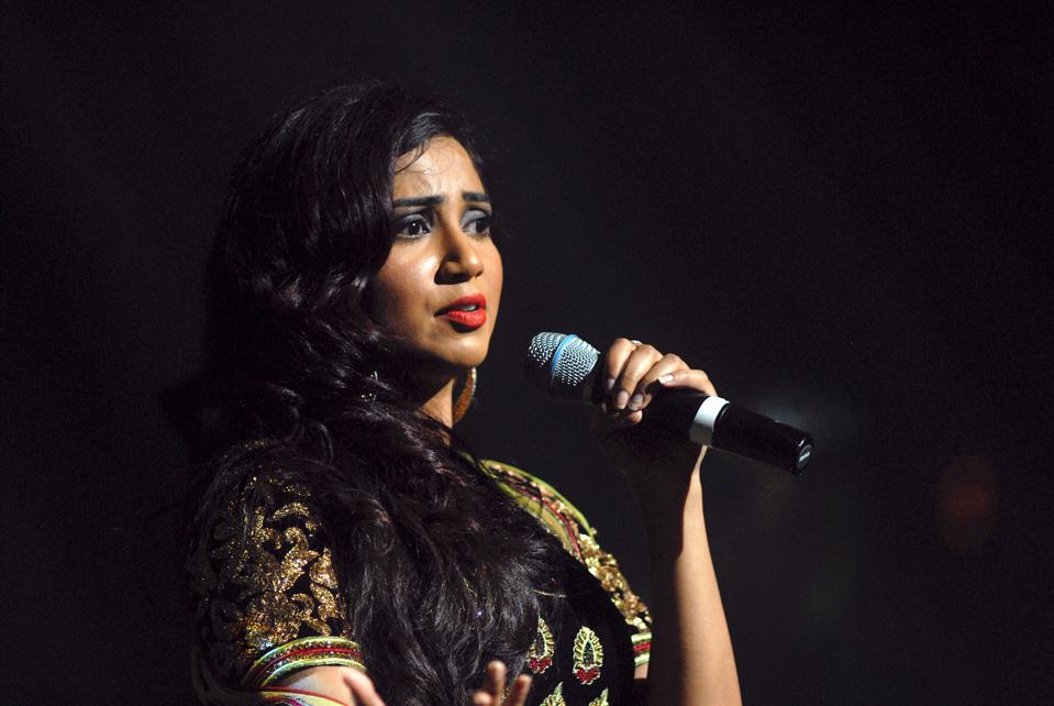 Shreya Ghoshal In concert
