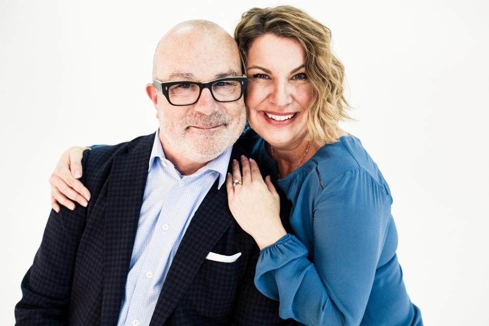 Innersense Organic Beauty Founders Greg and Joanne Starkman