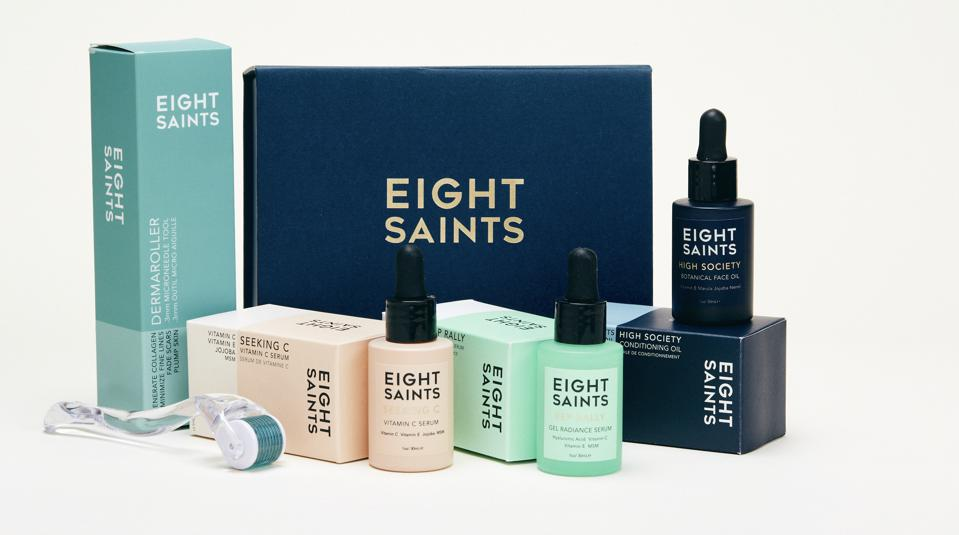 Eight Saints Rollin' With My Skincare Homies Routine