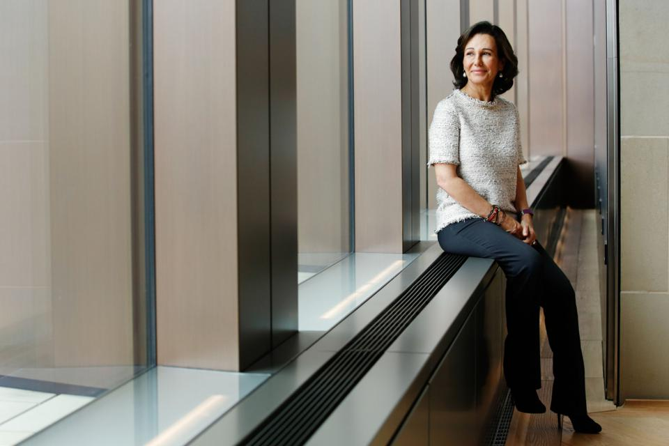 Ana Botín, executive chairman of Banco Santander