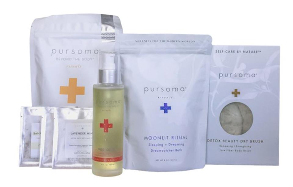 Pursoma's 2020 Holiday Wellness Box