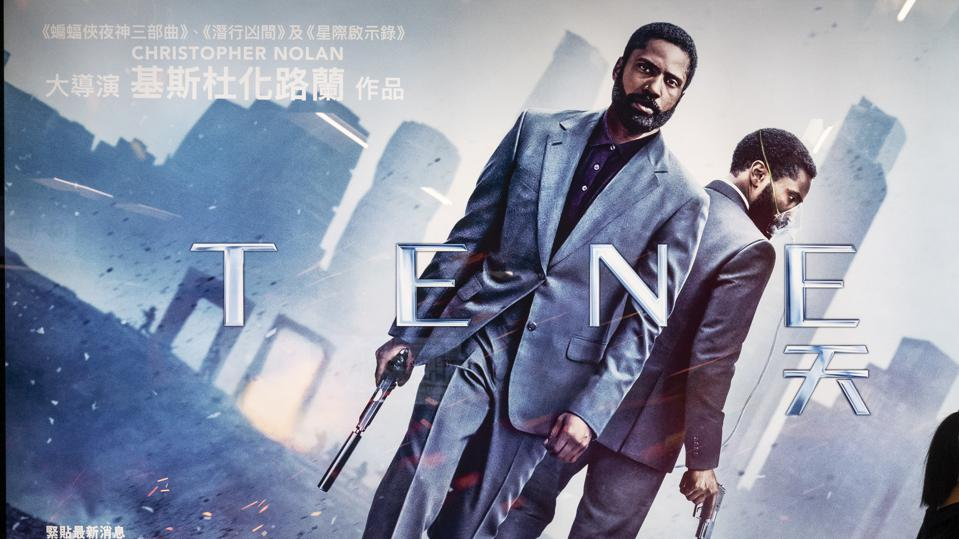 Tenet released in India on December 4. (Photo by Budrul Chukrut/SOPA Images/LightRocket via Getty Images)