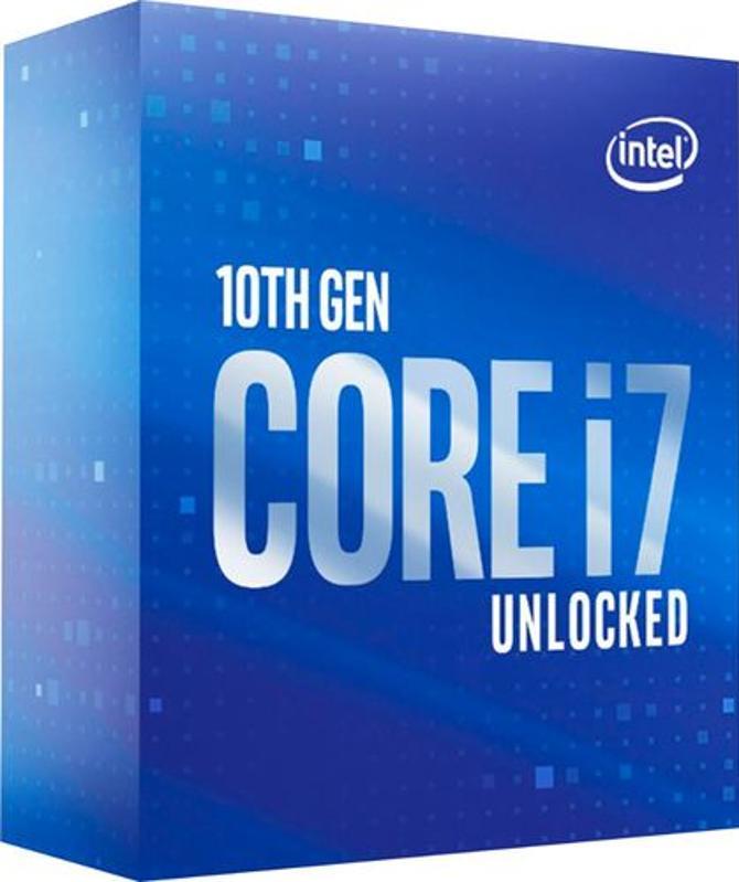Intel Core i7-10700K 10th Generation 8-Core Unlocked Desktop Processor blue retail box