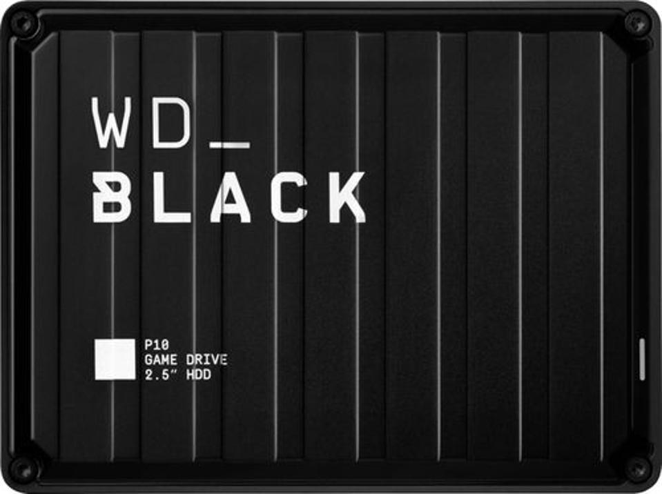 Western Digital WD_BLACK P10 5TB Game Drive in black
