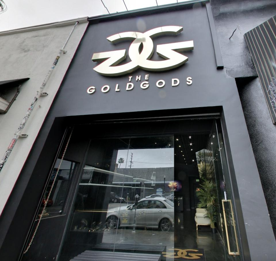 Storefront of The Gold Gods