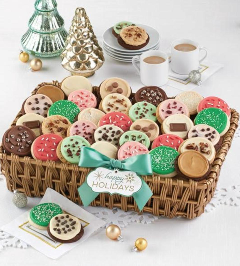 Buttercream Frosted Flavors Cookie Gift Basket