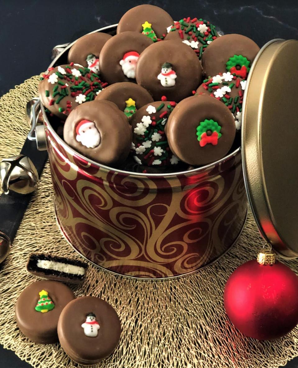 Chocolate Pizza Company Holiday Cookies
