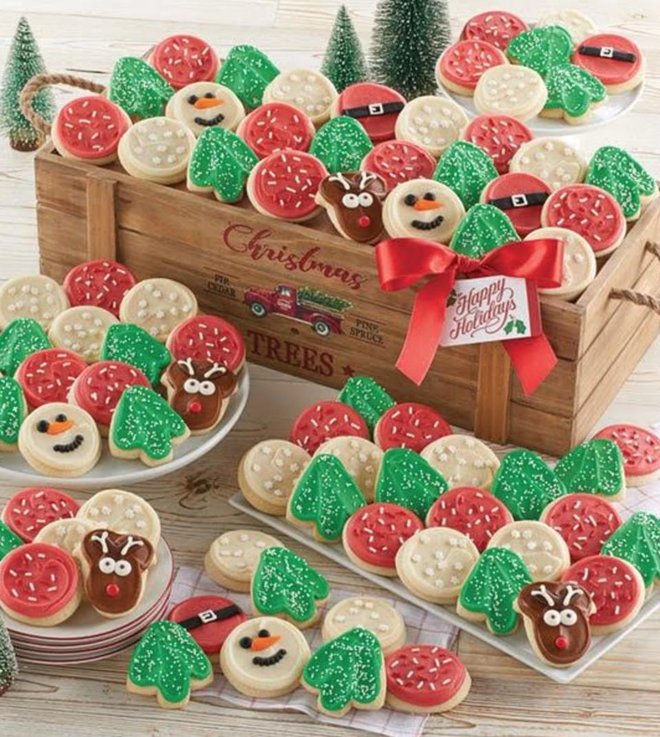 Cheryl's Cookies Christmas Tree Crate
