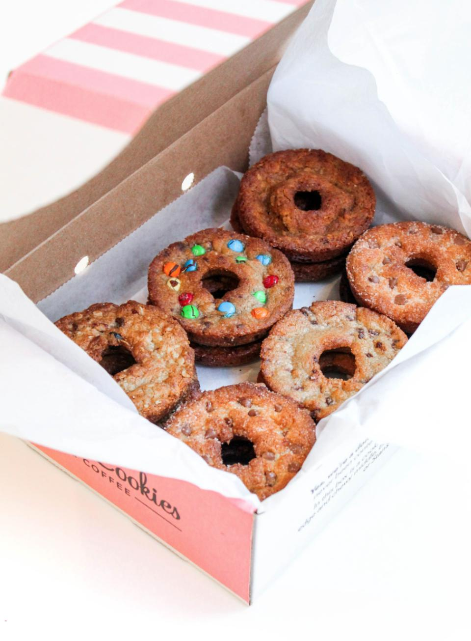 Donut Cookies in assorted flavors