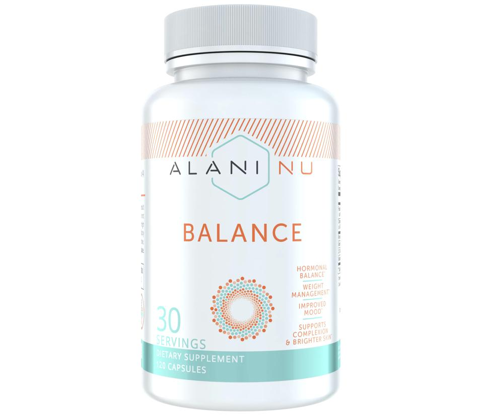 Alani Nu Balance All Natural Woman's Supplement wellness hormone weight mood complexion