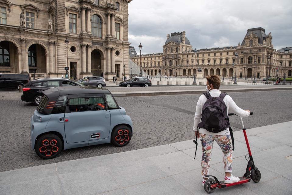Citroen's Tiny Electric Car For Teens
