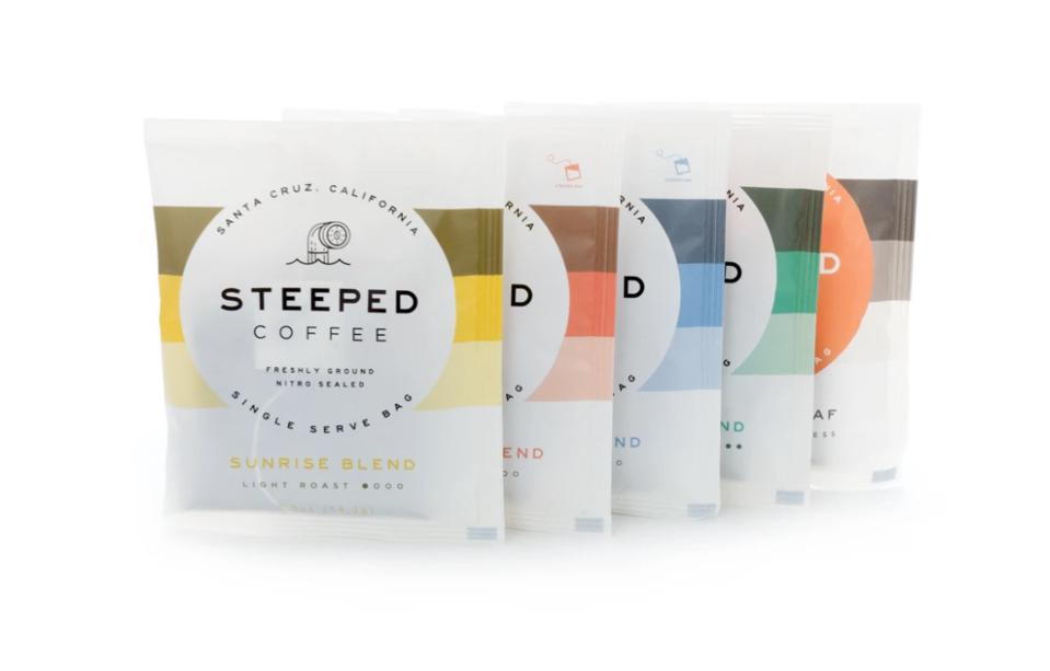 Steeped Coffee Single Serve Packs