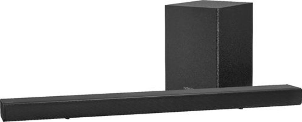 Insignia 2.1-Channel Soundbar With Wireless Subwoofer in Black