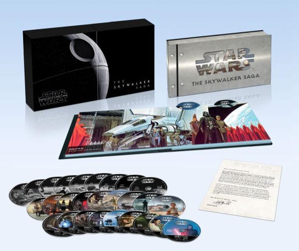 Star Wars: the Skywalker Saga ultra HD 4K Blu-Ray Box Set