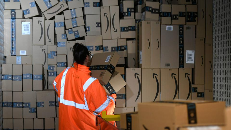 The environmental footprint of Amazon has been criticized as the company's presence has increased during Covid-19