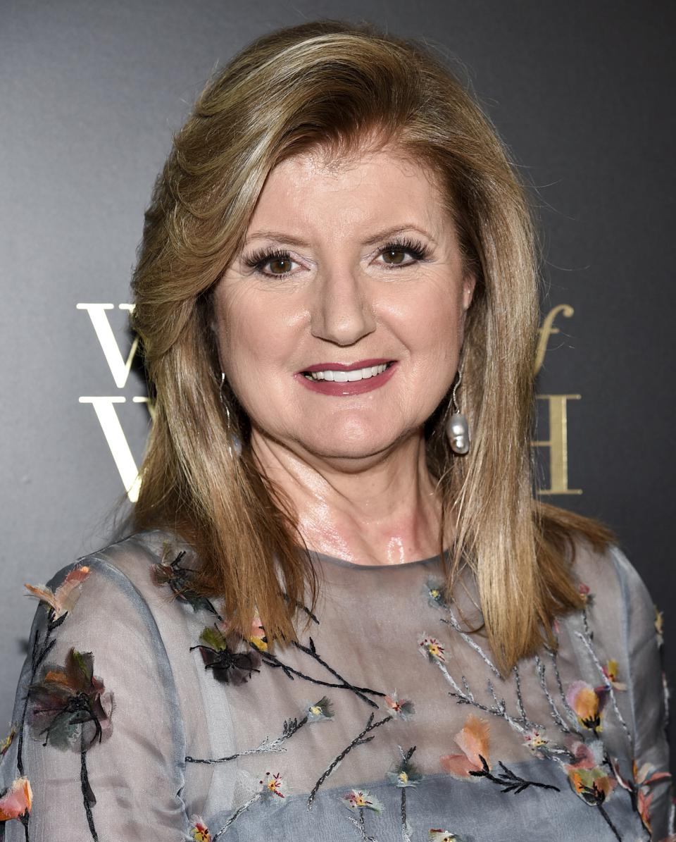 Arianna Huffington, founder and CEO of Thrive Global, picks 'resilience' as her word of the year.