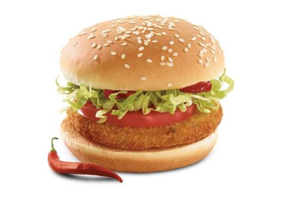 McDonald's Veggie Deluxe Burger is a staple in the Middle East.
